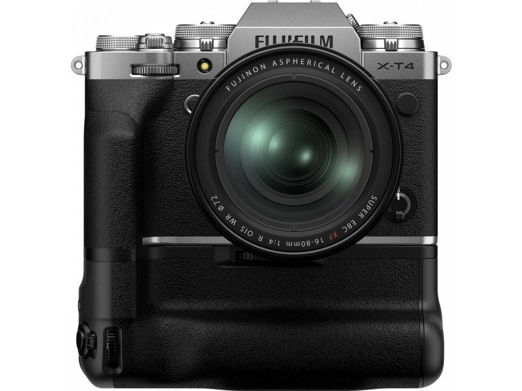 Fujifilm X-T4 + VG-X-T4  + battery grip zdarma (8990Kč)