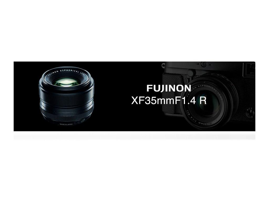 FUJINON XF 35mm/f1.4  CASHBACK 1300,- Kč + dárkový set v hodnotě 2 000,- Kč
