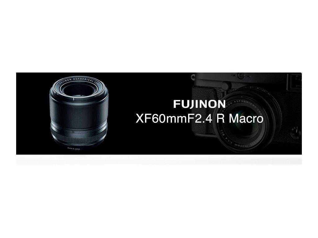 FUJINON XF 60mm/f2.4  + dárkový set v hodnotě 2 000,- Kč