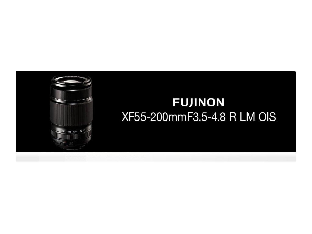 FUJINON XF 55-200mm f/3,5-4,8 R LM OIS  + dárkový set v hodnotě 2 000,- Kč