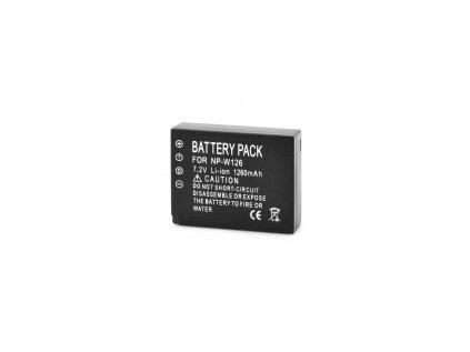 baterie NP-W126 (neoriginální) AV