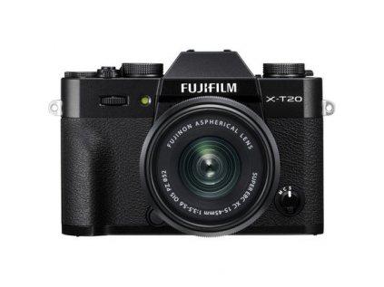 FUJIFILM X-T20 + XC 15-45mm/f3,5-5,6 OIS  + dárkový set v hodnotě 2 500,- Kč