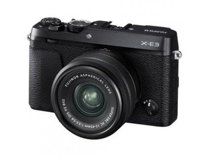 FUJIFILM X-E3 + XC 15-45mm/f3,5-5,6 OIS  + dárkový set v hodnotě 2 700,- Kč