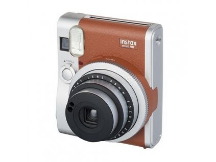 FUJIFILM Instax MINI 90 INSTANT CAMERA BROWN