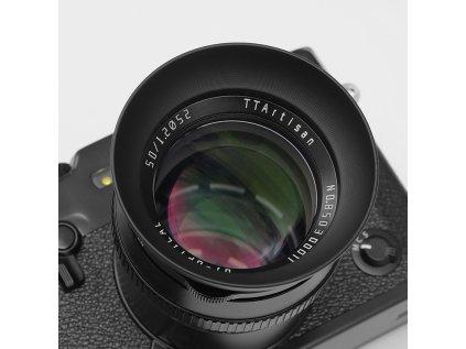 sluneční clona pro TTartisans 50mm f/1.2