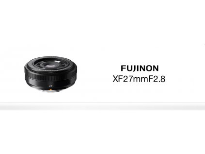 FUJINON XF 27mm/f2.8  + dárkový set v hodnotě 2 000,- Kč + CASHBACK 1250,-Kč