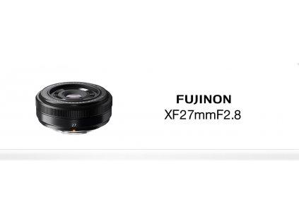 FUJINON XF 27mm/f2.8  CASHBACK 1300,- Kč + dárkový set v hodnotě 2 000,- Kč
