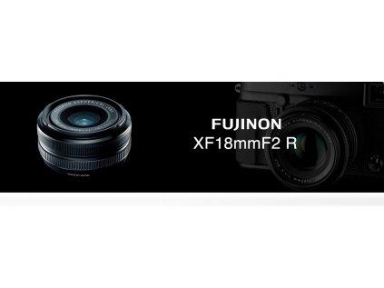 FUJINON XF 18mm/f2  + dárkový set v hodnotě 2 000,- Kč