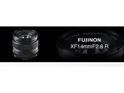FUJINON XF14/2.8  + dárkový set v hodnotě 2 700,- Kč
