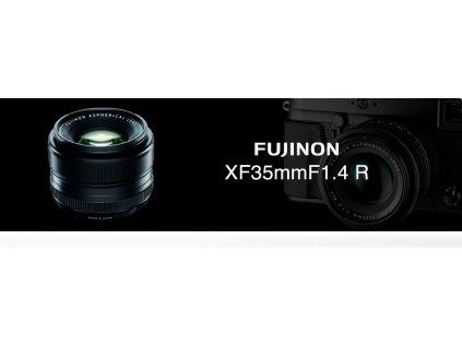 FUJINON XF 35mm f/1.4  + dárkový set v hodnotě 2 000,- Kč