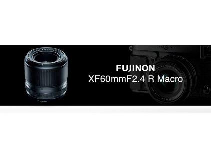 FUJINON XF 60mm/f2.4  + dárkový set v hodnotě 2 000,- Kč + CASHBACK 1250,- Kč