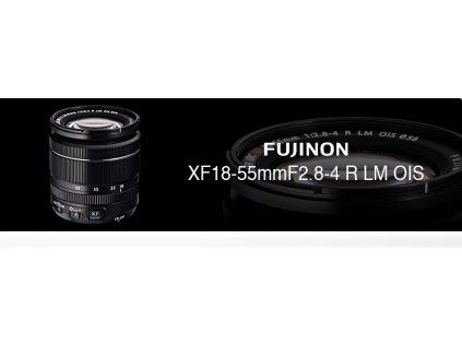 FUJINON XF 18-55mm/f2,8-4 R LM OIS  CASHBACK 2600,-Kč + dárkový set v hodnotě 2 000,- Kč