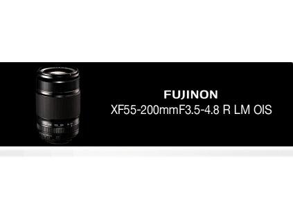FUJINON XF55-200mm/f3,5-4,8  + dárkový set v hodnotě 2 000,- Kč