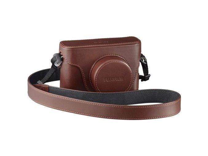 LC-X100S Premium Leather Case Brown (X100)