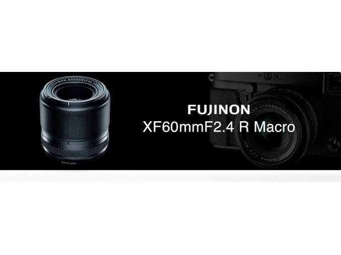 FUJINON XF60/2.4 + dárky za 2000,-Kč