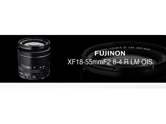 FUJINON XF18-55 + dárkový set za 3000,-Kč