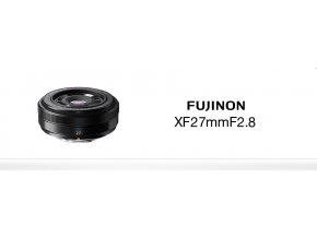 FUJINON XF27/2.8