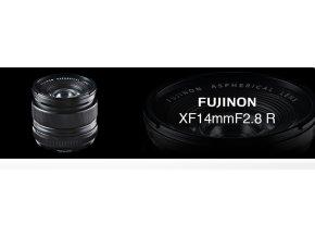 FUJINON XF14/2.8+cashback 2800,-Kč+dárkový set za 3000,-Kč