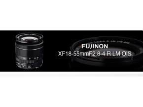 FUJINON XF18-55+ dárkový set za 3000,-Kč