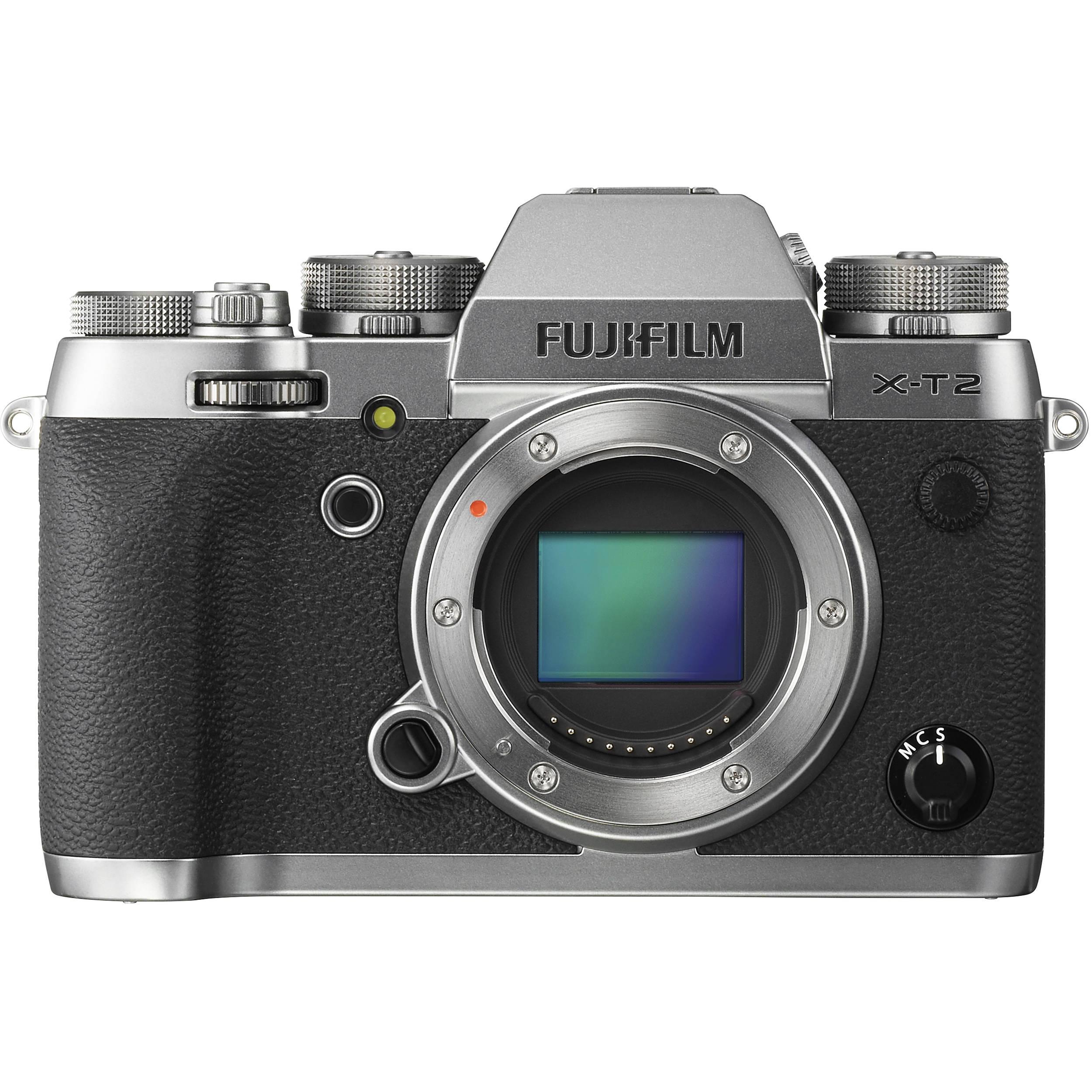 FUJIFILM X-T2 Graphite Silver Edition CASHBACK 7700,- Kč + dárkový set v hodnotě 5 300,- Kč