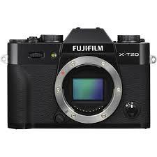 FUJIFILM X-T20 + dárkový set v hodnotě 2 700,- Kč + CASHBACK 2500,-Kč Barva: černá