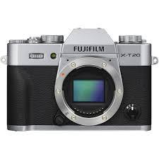 FUJIFILM X-T20 + dárkový set v hodnotě 2 500,- Kč Barva: stříbrná