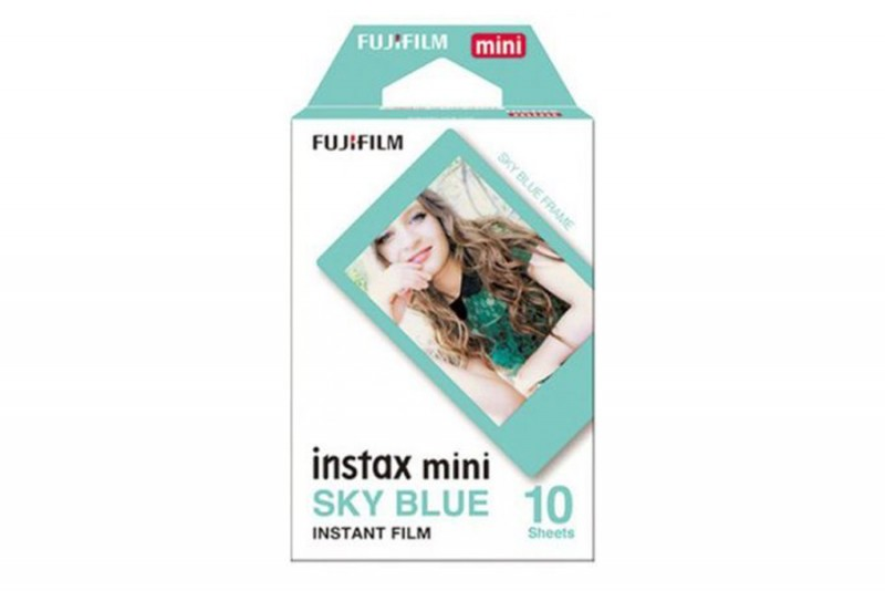 Instax mini film SKY BLUE