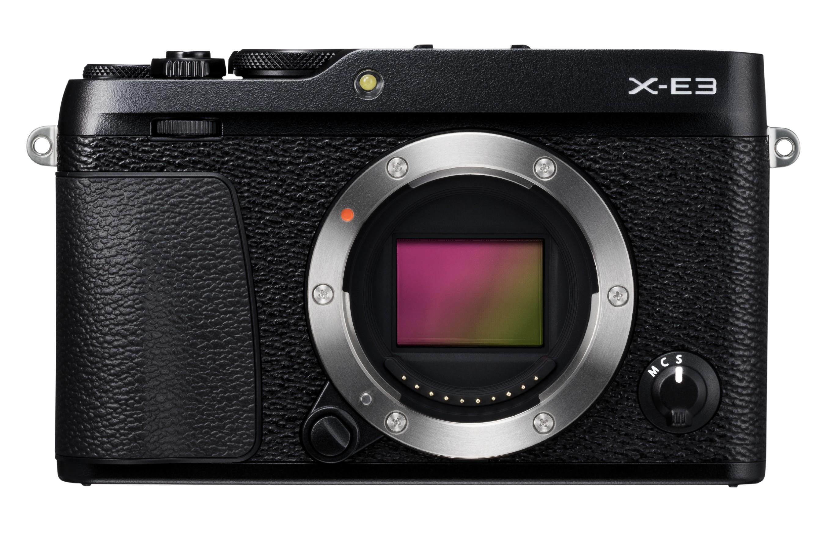 FUJIFILM X-E3 CASHBACK 2600,- Kč + dárkový set v hodnotě 2 700,- Kč Barva: černá