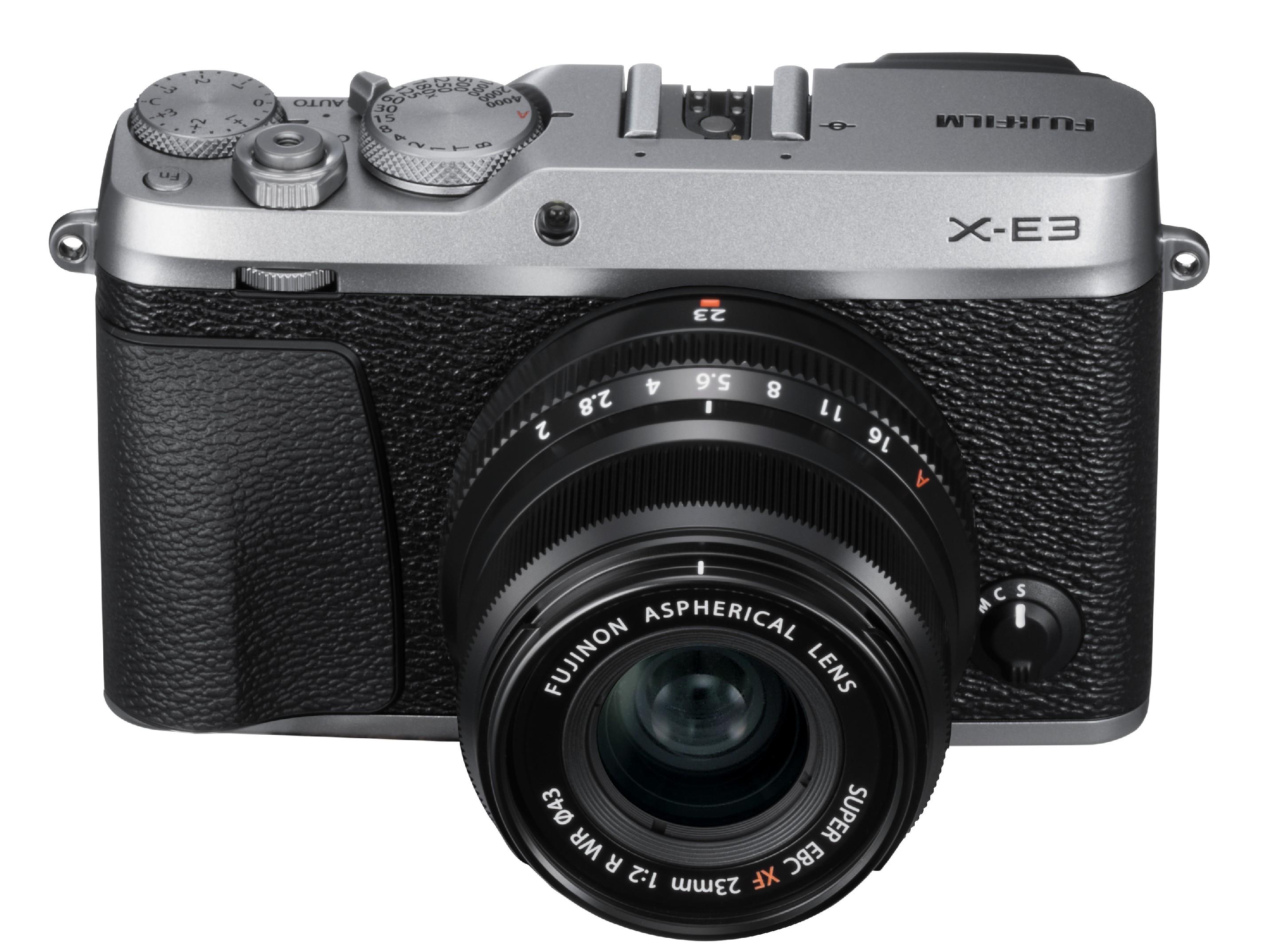 FUJIFILM X-E3 + XF23mm/f2 CASHBACK 2600,- Kč + dárkový set v hodnotě 2 700,- Kč Barva: černostříbrná