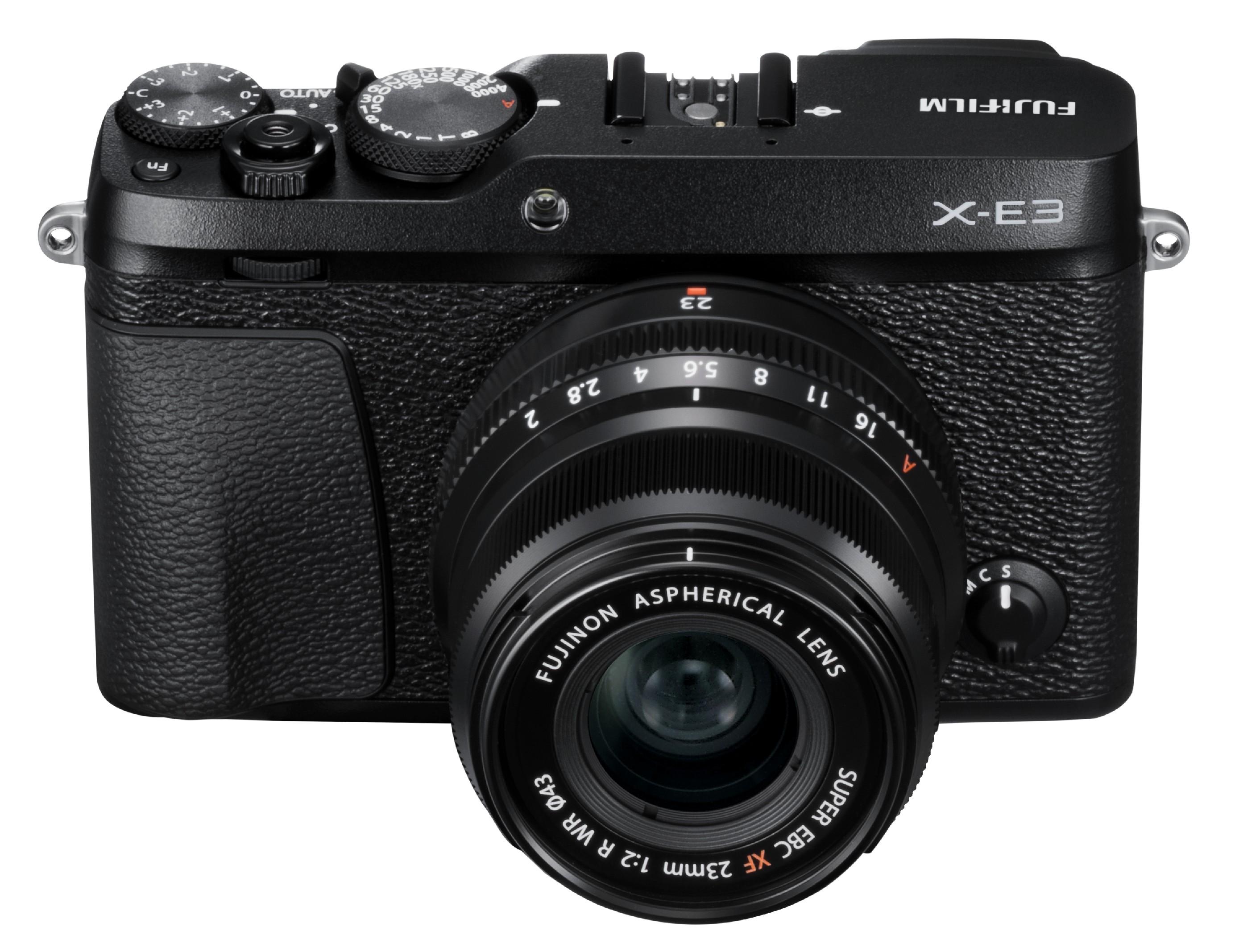 FUJIFILM X-E3 + XF23mm/f2 CASHBACK 2600,- Kč + dárkový set v hodnotě 2 700,- Kč Barva: černá