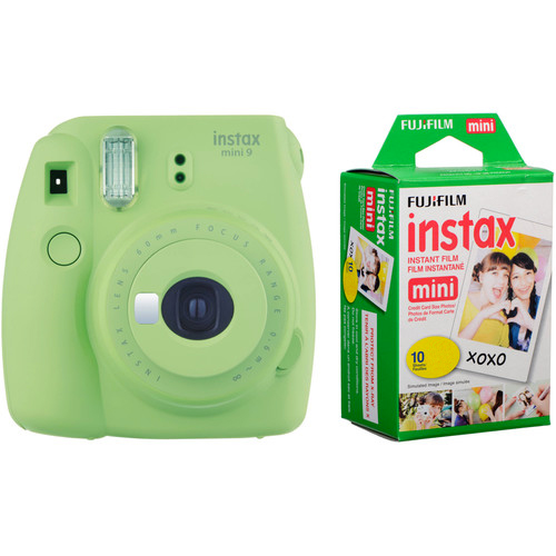 INSTAX MINI 9 + FILM Barva: Lime Green