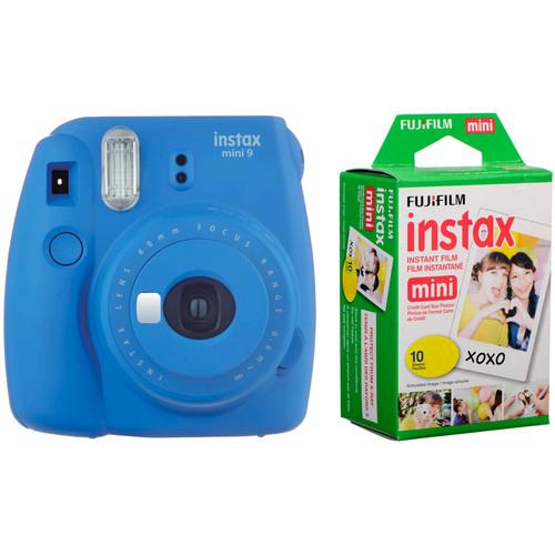 INSTAX MINI 9 + FILM Barva: Cobalt Blue