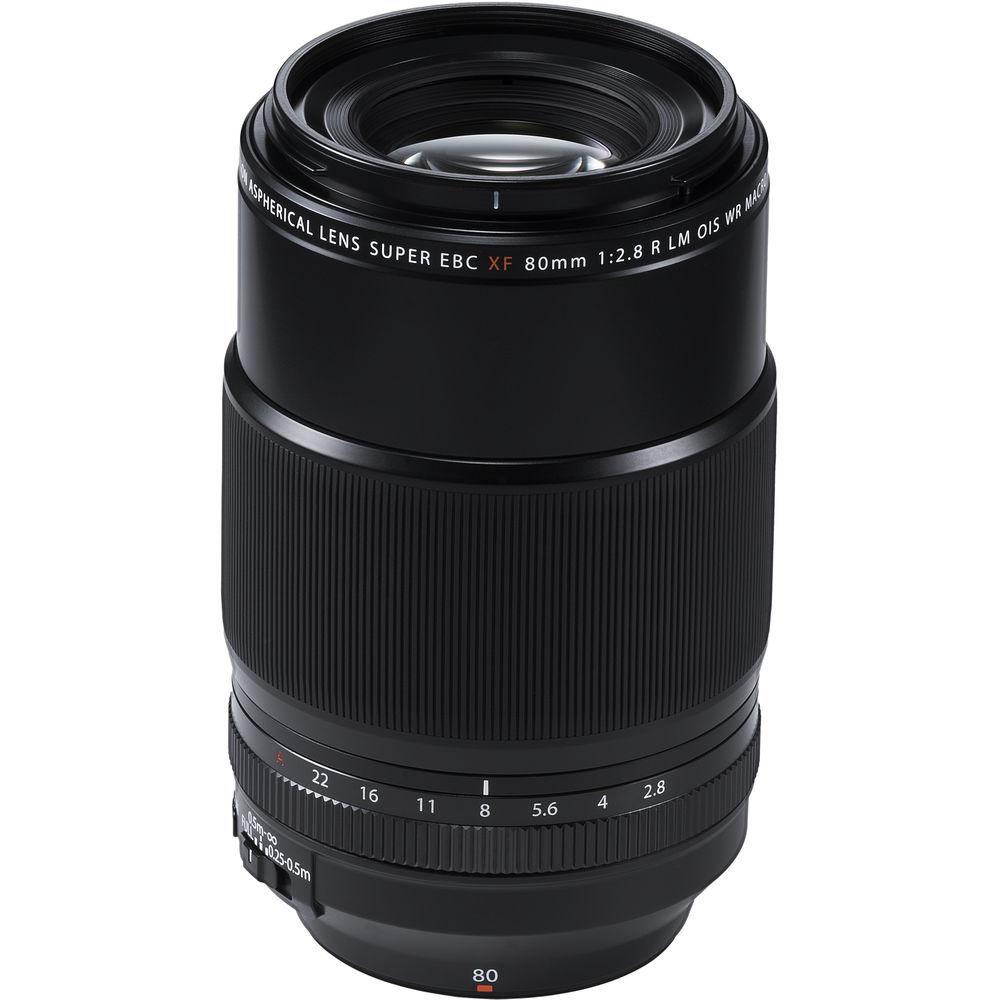FUJINON XF 80mm f/2.8 R LM OIS WR Macro + dárkový set v hodnotě 4 000,- Kč