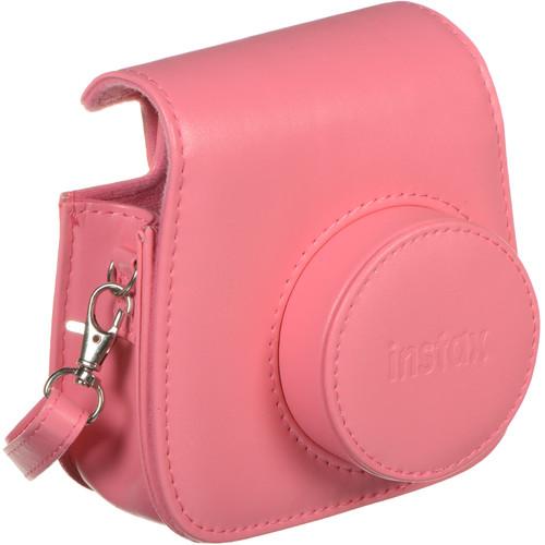 Instax Mini 9 camera case with strap (obal) Barva: Flamingo Pink