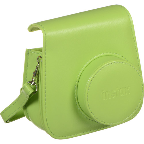 Instax Mini 9 camera case with strap (obal) Barva: Lime Green