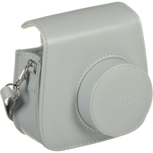 Instax Mini 9 camera case with strap (obal) Barva: Smokey White
