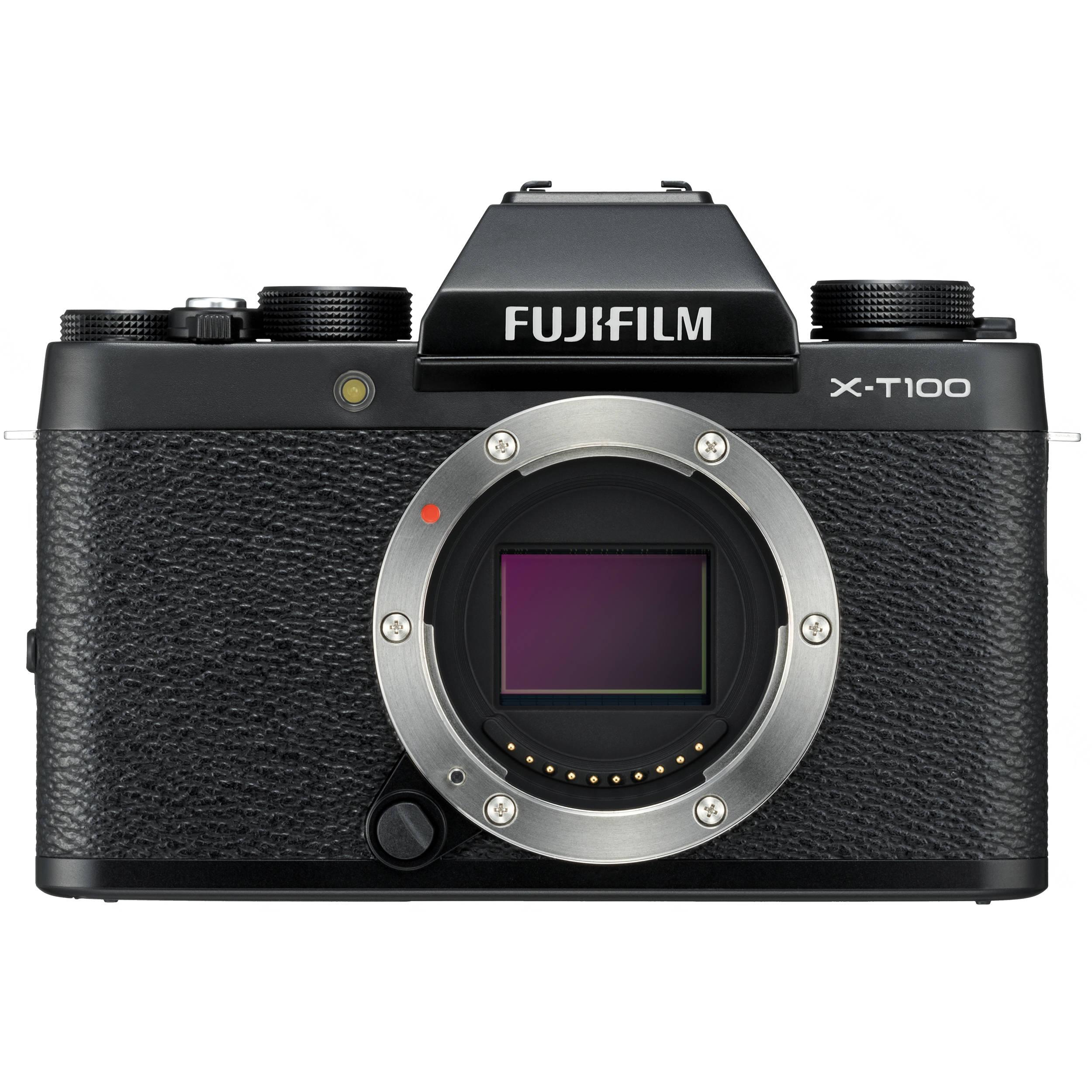 FUJIFILM X-T100 (tělo) Barva1: Černá