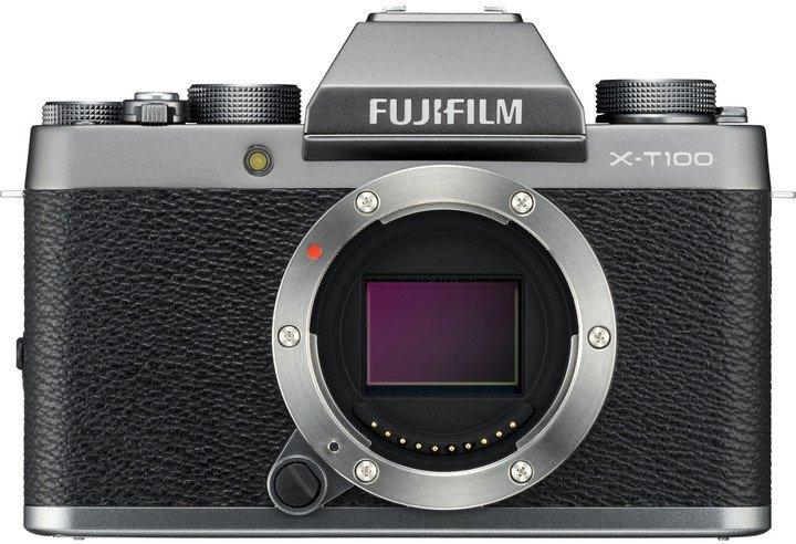 FUJIFILM X-T100 (tělo) T100 BARVA: Stříbrná