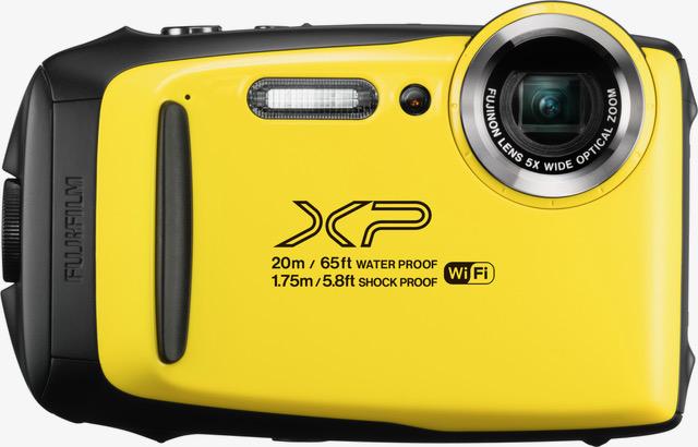 Fujifilm XP130 Barva: žlutý