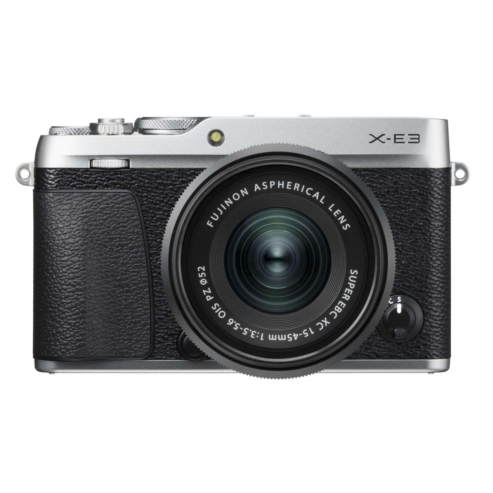 FUJIFILM X-E3 + XC 15-45mm/f3,5-5,6 OIS CASHBACK 2600,- Kč + dárkový set v hodnotě 2 700,- Kč Barva: stříbrná