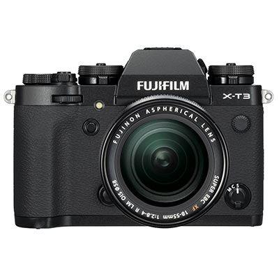 FUJIFILM X-T3 + XF 18-55mm/f2,8-4 + dárkový set v hodnotě 5 300,- Kč Barva: černá