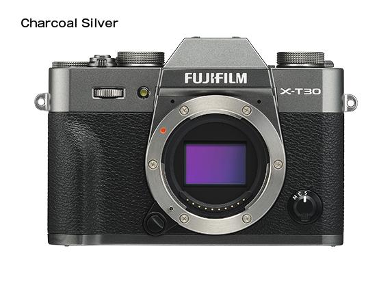 FUJIFILM X-T30 Barva: dark silver