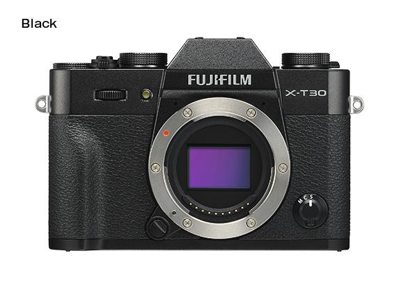 FUJIFILM X-T30 Barva: černá