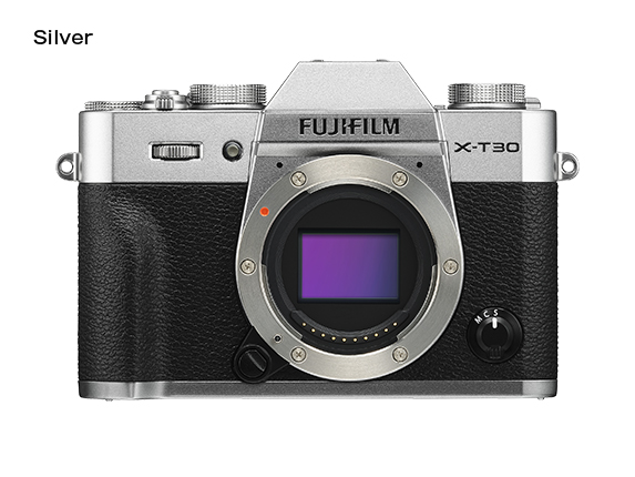 FUJIFILM X-T30 Barva: stříbrná