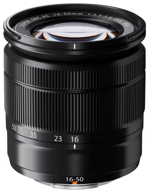 FUJINON XC 16-50mm f3,5-5,6 OIS + dárkový set v hodnotě 2 000,- Kč Barva: černá