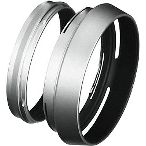 LH-X100 Lens Hood, Silver