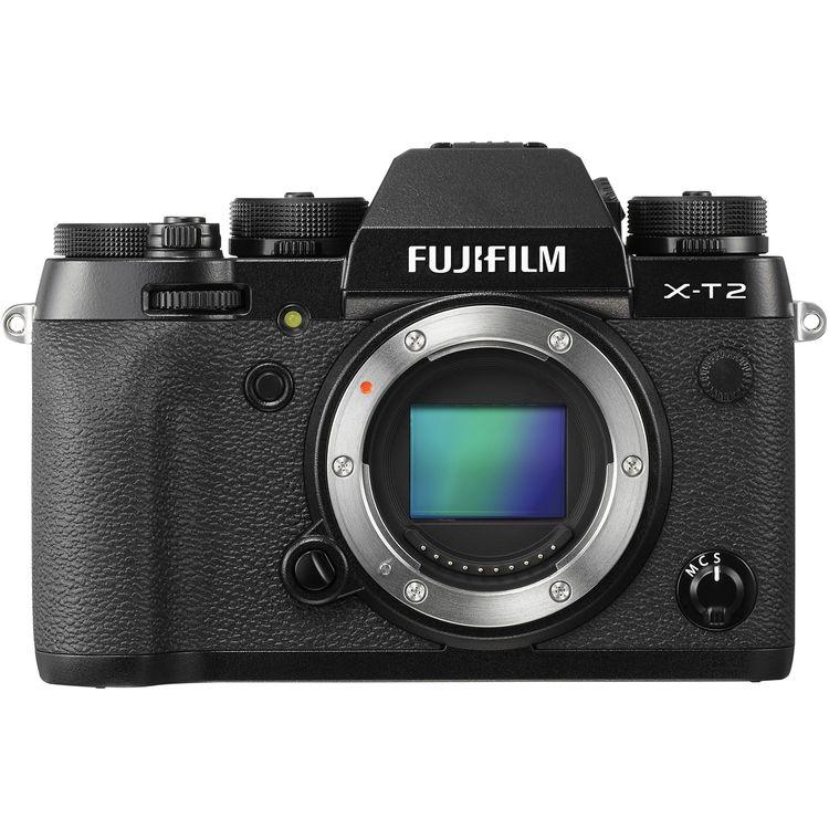 FUJIFILM X-T2 CASHBACK 7700,- Kč + dárkový set v hodnotě 2 700,- Kč Barva: černá