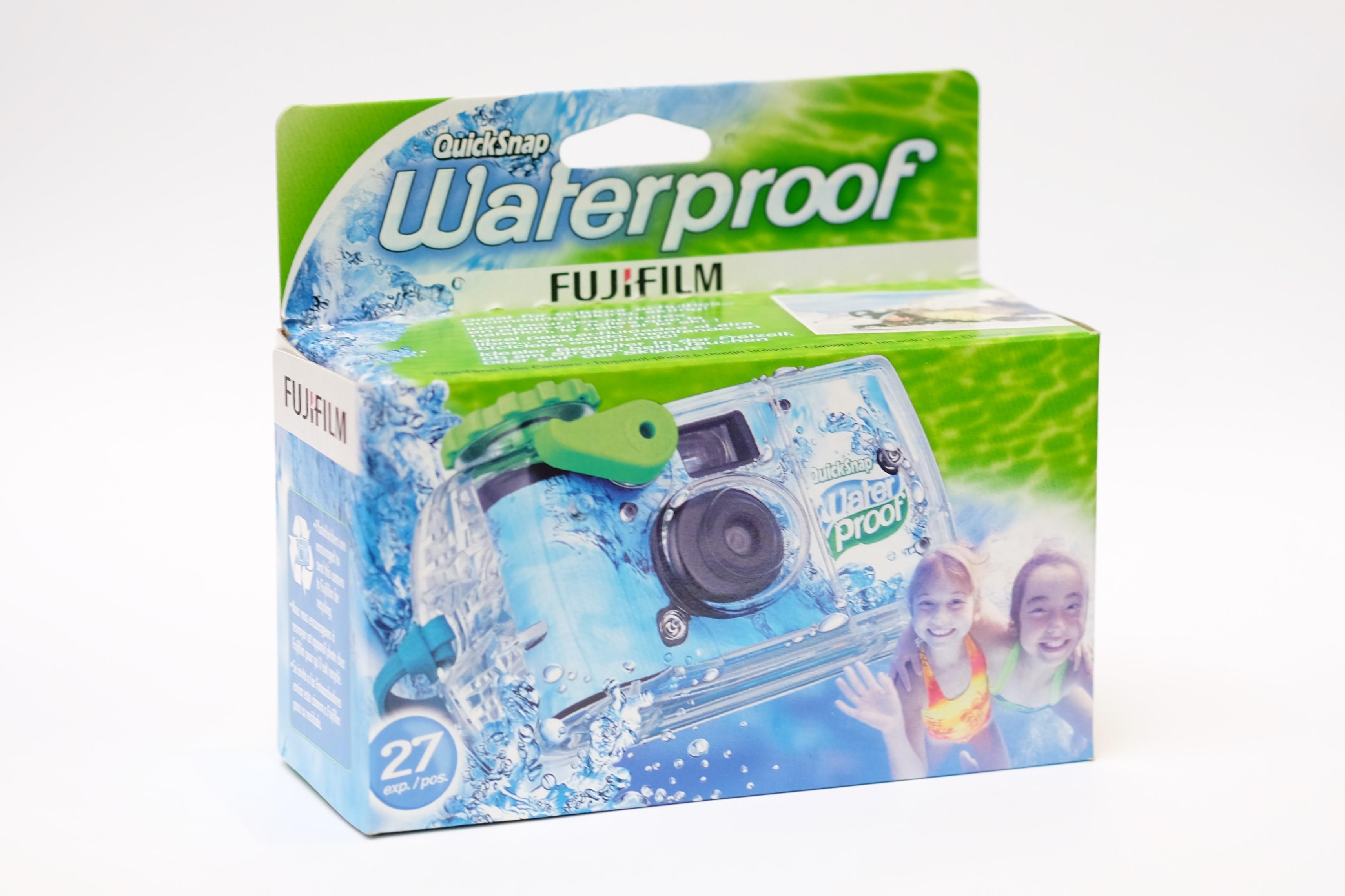Jednorázový fotoaparát Quicksnap Marine 800/27