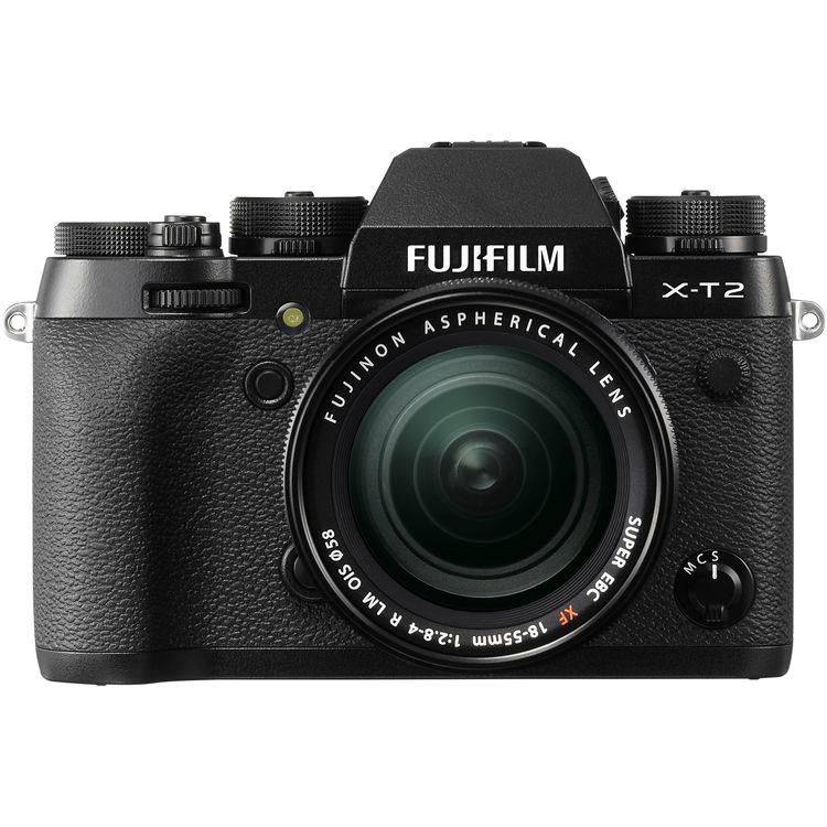 FUJIFILM X-T2 + XF 18-55mm/f2,8-4 CASHBACK 5200,- Kč + dárkový set v hodnotě 4 000,- Kč