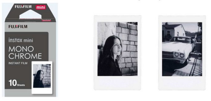 Instax mini film monochrome 10ks